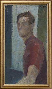 PETER DAHL, olja på pannå signerad och daterad 1958.