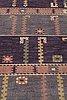 "Märta måås-fjetterström, matta, ""ståndaren"", flossa, ca 256,5 x 194 cm, signerad ab mmf."