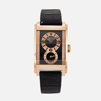 ROLEX, Cellini, Prince, Chronometer, armbandsur, 26,5 x 36 (44) mm.