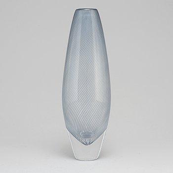EDWARD HALD, a glass vase for Orrefors.