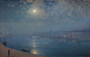 "333. Alfred Wahlberg, ""Partie de Stockholm (Clair de Lune)""."
