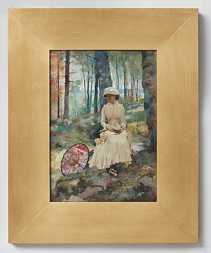 """koivujen alla"" (under the birches)"