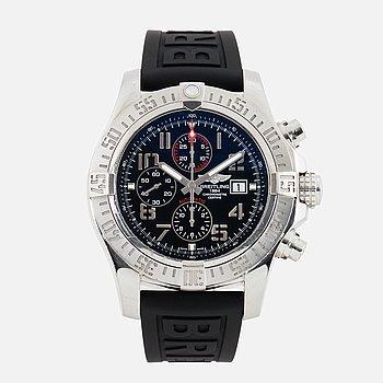BREITLING, Super Avenger II, Chronometre, kronograf, armbandsur, 48 mm.