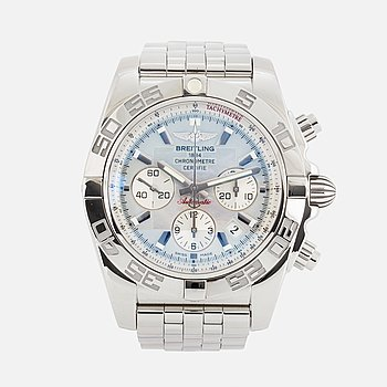 "BREITLING, Chronomat 44, Chronometre, ""Tachymetre"", chronograph, wristwatch, 44 mm."