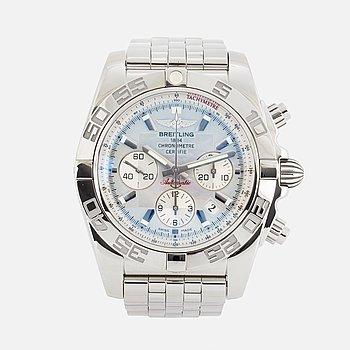 "BREITLING, Chronomat 44, Chronometre, ""Tachymetre"", kronograf, armbandsur, 44 mm."