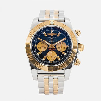 "BREITLING, Chronomat 44, Chronometre, ""Tachymetre"", kronograf armbandsur, 44 mm."