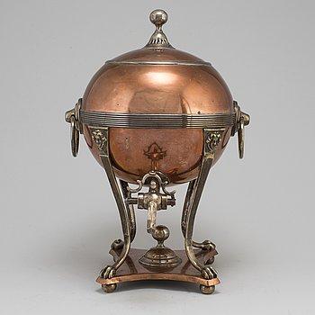 TEKÖK, koppar och mässing, 1800-tal.