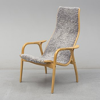 A 'Lamino' easy chair by Yngve Ekström, Swedese.