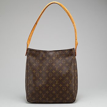 "LOUIS VUITTON, väska ""Looping GM""."