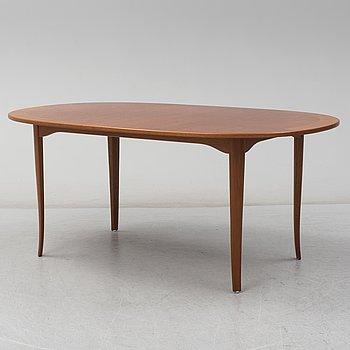 "CARL MALMSTEN, soffbord, ""Ovalen"", Åfors Möbelfabriks AB."