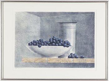 PHILIP VON SCHANTZ, färglitografi, signerad, numrerad 169/275 och daterad 86.