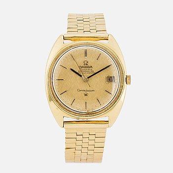 "OMEGA, Constellation, ""C"", Chronometer, armbandsur, 35 mm."