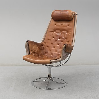 A 'Jetson' easy chair by Bruno Mathsson, Dux, late 20th Century.