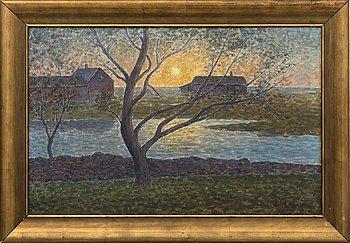 PER EKSTRÖM, oil on canvas signed.