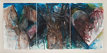 "136. Jim Dine, ""Desire (A Study)""."