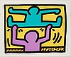 "Keith haring, ""untitled, pl. 4"", ur ""pop shop i series""."