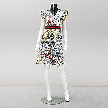 GUCCI, klänning, 'Flora', storlek M. 2018.