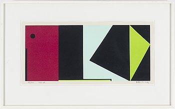 OLLE BAERTLING, silkscreen, 1956-68, signed 37/300.