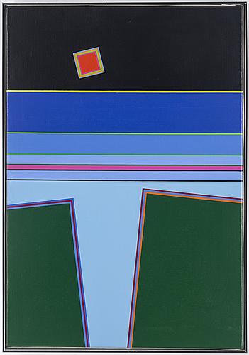 Peter freudenthal, olja på duk, signerad och daterad 1989 91