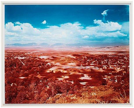 """Florian maier-aichen, """"untitled valley"""", 2003."""