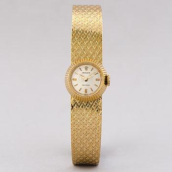 ROLEX, Precision, wristwatch,  17 mm.