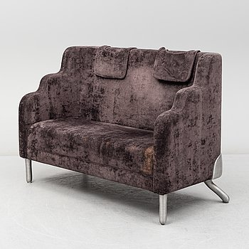An 'Orientexpressen' sofa by Anna Kraitz for Källemo, designed in 2004.