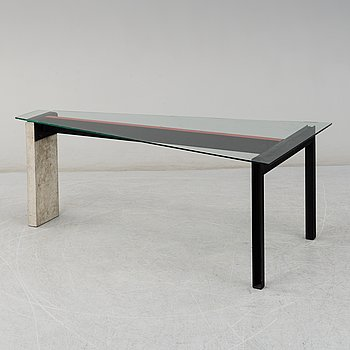 """JONAS BOHLIN, bord, """"Concrete"""", Källemo, Värnamo, 1900-talets slut."""