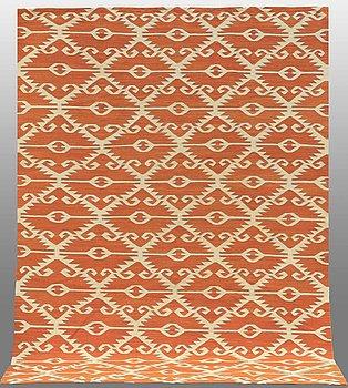 A CARPET, fat weave, around 292 x 211 cm.