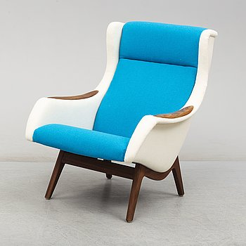 "EASY CHAIR, ""Konvall"", Mølle/Stokke. Norway. 1950s."