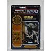 Star wars, yoda, potf 92 back, afa 40 y-g, kenner 1985.