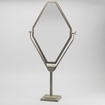 A TABLE MIRROR MID 20TH CENTURY.