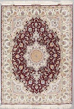 MATTA, Täbris, part silk, ca 207 x 150 cm.
