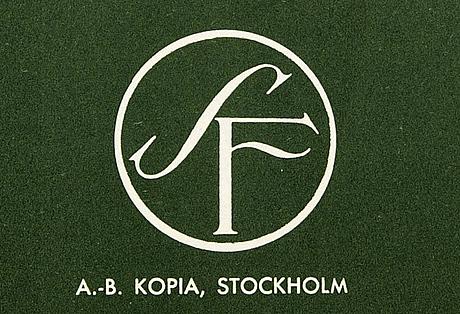 Poster, 1955, ingmar bergman, sf a b  kopia stockholm