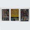 Star wars, squid head, bossk (bounty hunter) rotj & ig 88 (bonty hunter)  esb 32 back a afa 85 nm+, kenner 1980 1983