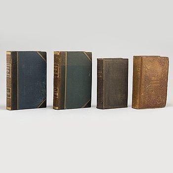 BÖCKER, 4 volymer. Gastronomi.