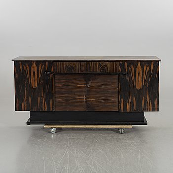 A SIDEBOARD,  MID 20TH CENTURY,