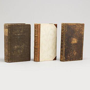 BÖCKER, 3 volymer. Classics of Gastronomy 1811-1828.