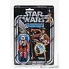 Star wars, luke skywalker: x-wing pilot, 20 back-d, afa 85 nm+, kenner 1978.