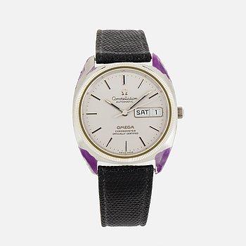 """OMEGA, Constellation, """"NOS"""", Chronometer, armbandsur, 35 mm."""