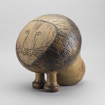 "LISA LARSON, skulptur, ""Lejon Maxi"" stengods, Gustavsberg Studio."