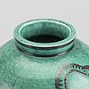 Wilhelm kåge, a stoneware vase 'argenta' from gustavsberg.