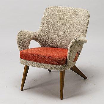 CARL GUSTAF HIORT AF ORNÄS, a 1950s 'Pedro' armchair for Puunveisto Oy - Wood work Ltd.
