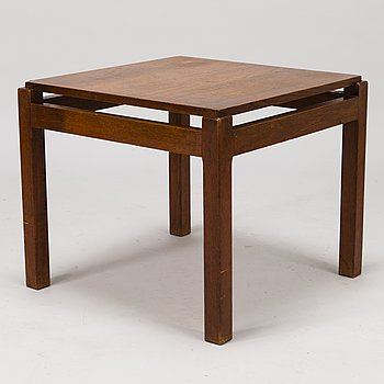 CARL GUSTAF HIORT AF ORNÄS, A mid 20th century 'Lamp table' Puunveisto Oy - Wood work Ltd.
