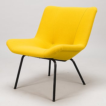 CARL GUSTAF HIORT AF ORNÄS, a mid 20th century 'Lehti' easy chair for Puunveisto Oy - Wood work Ltd.