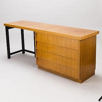 CARL GUSTAF HIORT AF ORNÄS, mid 20th century writing desk for HMN Huonekalu Mikko Nupponen.