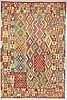 A carpet, kilim oriental, around 290 x 200 cm