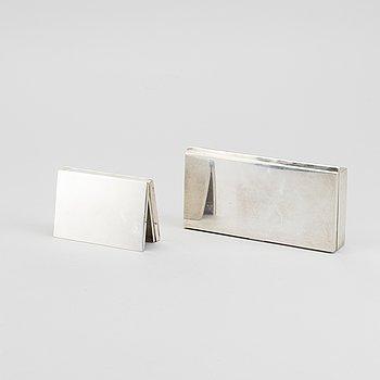WIWEN NILSSON, cigarettetuin 2 st silver Lund 1928-30.
