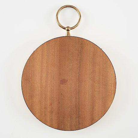 Piero fornasetti, a brass framed mirror, milan, italy.