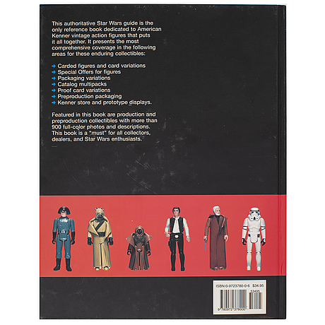 "Star wars ""star wars vintage action figures: a guide for collectors"" by john kellerman, 2003"