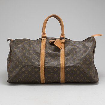 "LOUIS VUITTON, weekendväska, ""Keepall 55""."